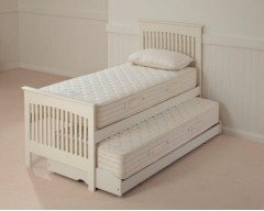 Relyon Duo Guest Bed in White Stone