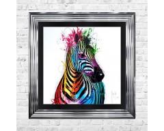 Patrice Murciano Zebra Picture 55cm x 55cm