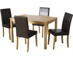 Anton Dining Table & 4 Chairs