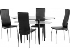Bolton Dining Set & 4 Chairs