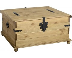 Mexican Deluxe Double Storage Chest