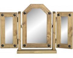 Mexican Deluxe Triple Swivel Mirror