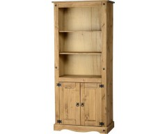 Mexican Deluxe 2 Door Bookcase