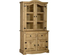 Mexican Deluxe 3ft Buffet & Hutch