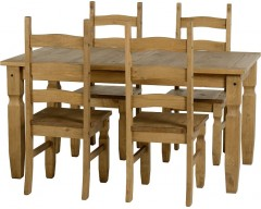 Mexican Deluxe 5ft Dining Set