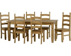 Mexican Deluxe 6ft Dining Set