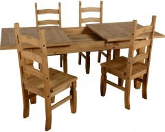 Mexican Deluxe Extending Dining Set