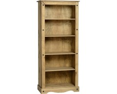Mexican Deluxe Tall Bookcase