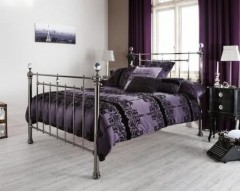 Cambridge Metal 6ft Bed Frame