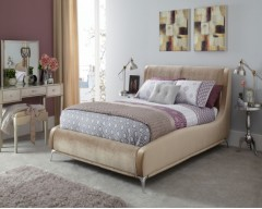 Fiona 6ft Upholstered Bed Frame