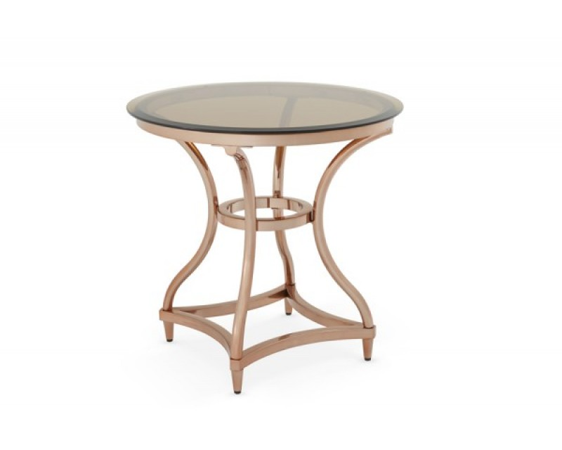 Janet Glass Lamp Table