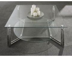 Leicester Glass Coffee Table