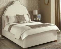 Kimberley Upholstered in Ebony 6ft Bed Frame