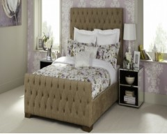 Lara Upholstered 4ft6 Bed Frame