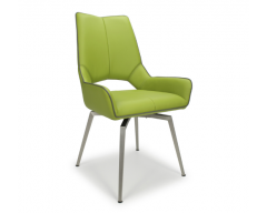 Sarah Swivel Dining Chair in Grass