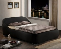 Miami 4ft6 Faux Leather Bed Frame - Next Day Delivery
