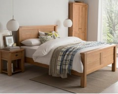 Breeze 6ft Solid Oak Bed Frame
