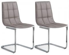 Epsom White Gloss Dining Chair
