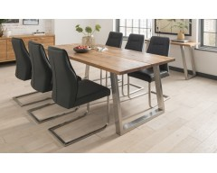 Taize 2.1m Oak Dining Table