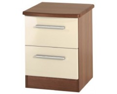 Kingston 2 Drawer Bedside Cabinet