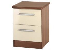 Kingston 2 Drawer Bedside Cabinet