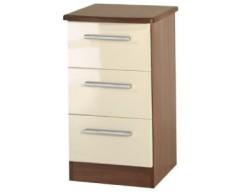 Kingston 3 Drawer Bedside Cabinet