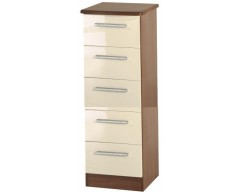 Kingston 5 Drawer Narrow Chest